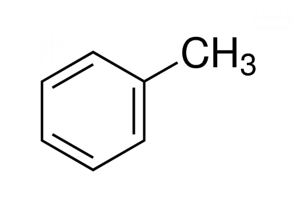 ساختار شیمیایی تولوئن