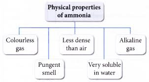 مشخصات فیزیکی آمونیاک