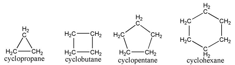 هیدروکربن های حلقوی
