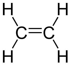 نمونه ای از هیدروکربن های آلیفاتیک(اتیلن)