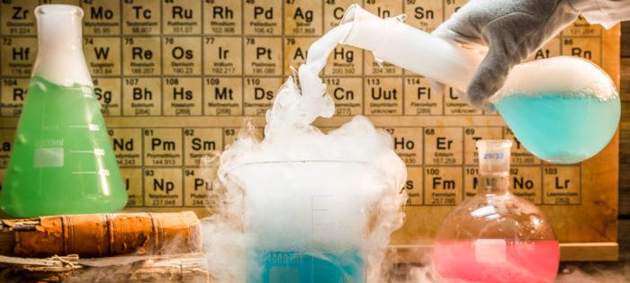 ریاکشن مواد شیمیایی