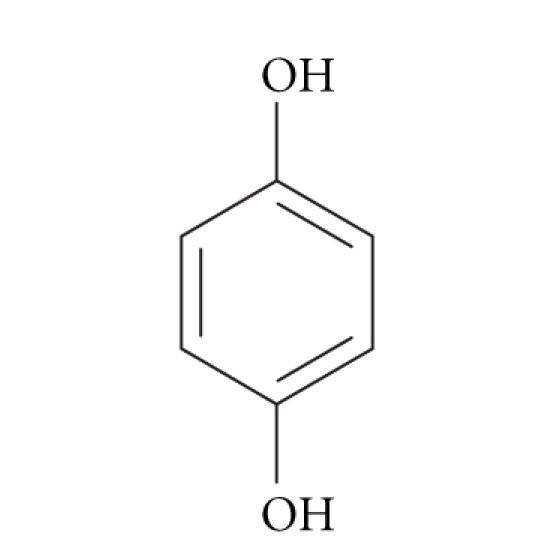 شکل ساختاری هیدروکینون
