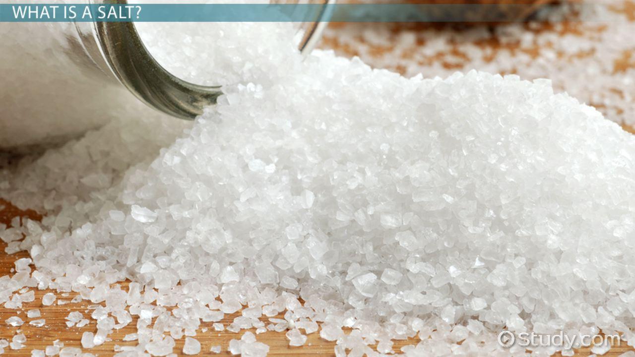 کلسیم کلرید و کاربدر های آن که شبیه به نمک نیز میباشد