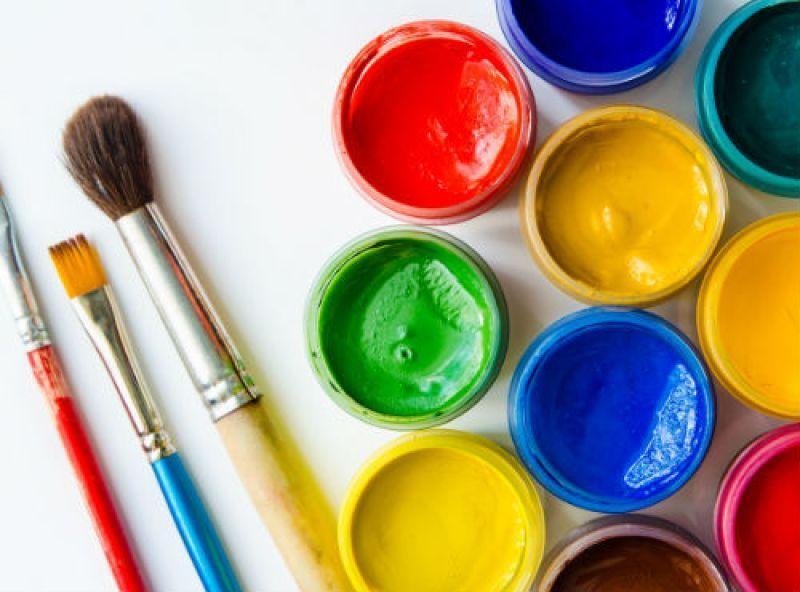 رنگ ها با اتیل استات