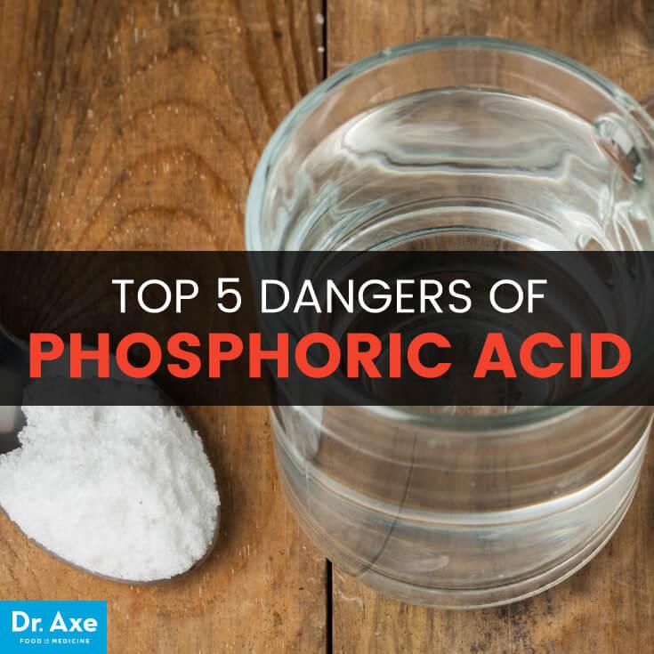 خطرات اسید فسفریک