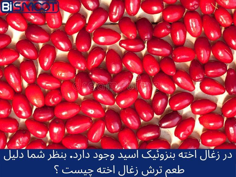 بنزوئیک اسید در میوه جات