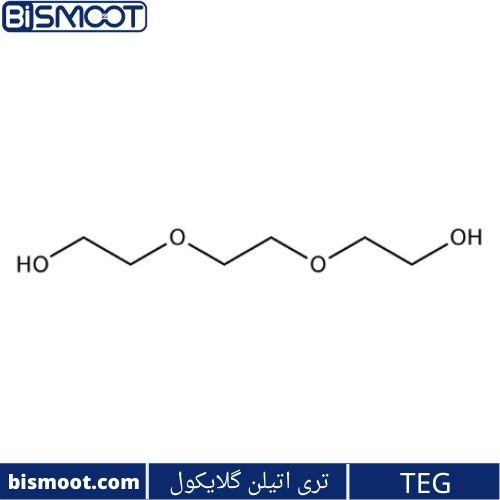ساختار تری اتیلن گلایکول