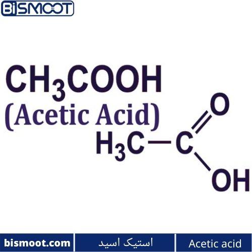 ساختار استیک اسید