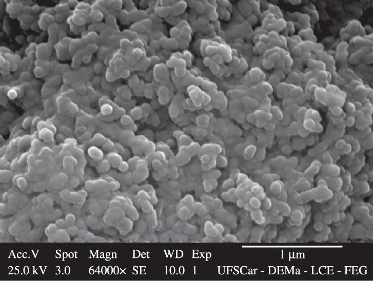 مورفولوژی نانو ذرات کربنات کلسیم