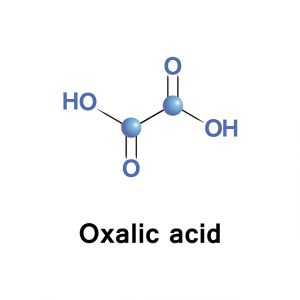 ساختار اسید اگزالیک